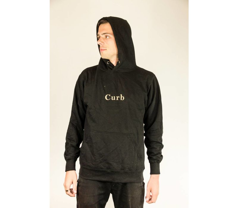 Curb Gang Hood Black/Gold