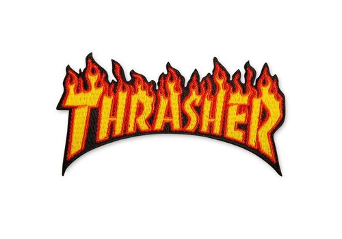 Thrasher Thrasher Flame Patch