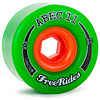 Abec 11 Freeriders 72mm Green