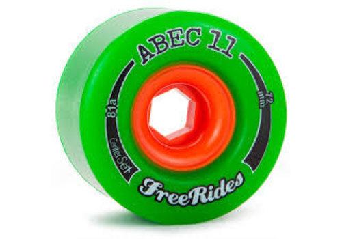 Abec 11 Freeriders 72mm Green