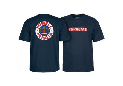 Powell Peralta Powell Peralta Supreme T-Shirt Navy