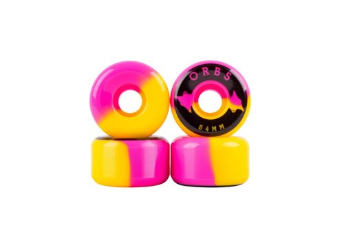 Welcome Orbs Specters - 54mm - Pink/Yellow