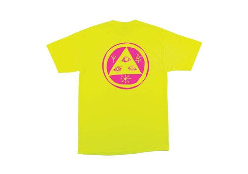 Welcome Welcome - Talisman Mono Tee Safety Green/Pink Regular