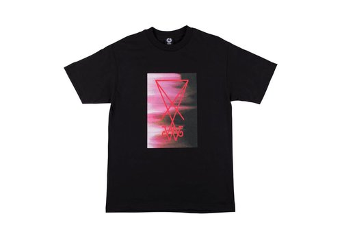 Welcome Welcome - Smear Tee Black