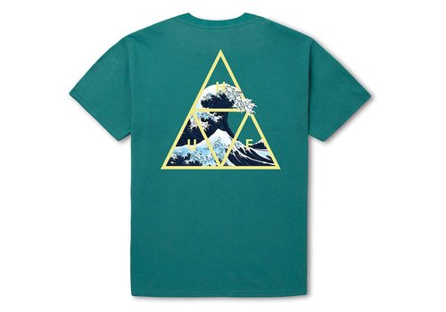 HUF Huf High Tide Triangle Tee Tropical Green