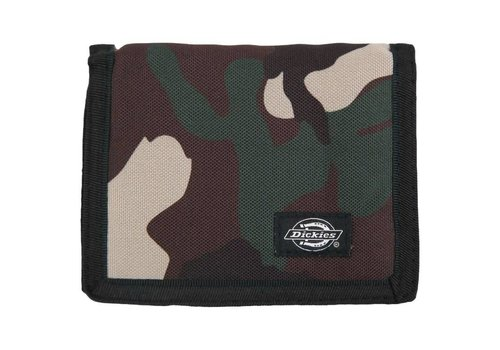 Dickies Dickies Leather Crescent Bay Wallet Camo