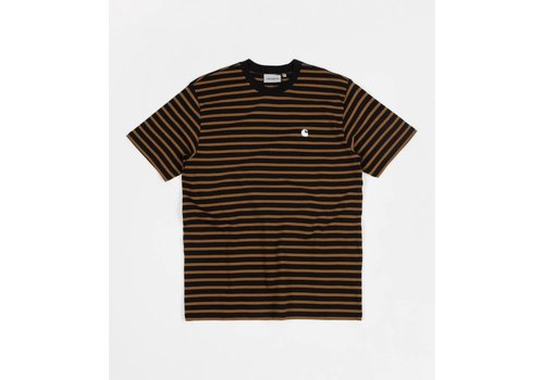 Carhartt WIP Carhartt Robie Stripe Tee Black/Hamilton