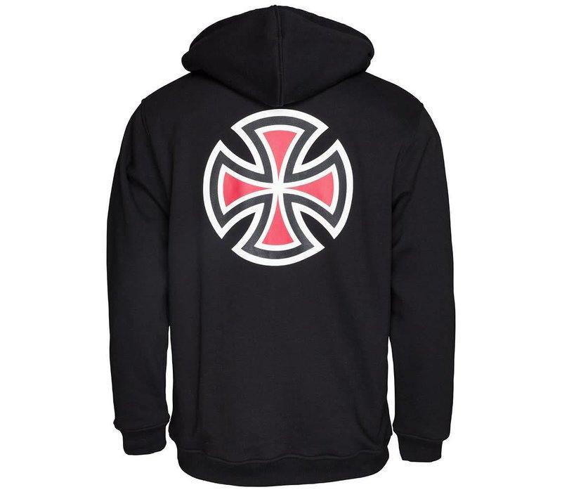 Independent Bar Cross Hood Black