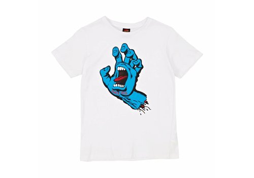 Santa Cruz Santa Cruz Youth Screaming Hand Tee White