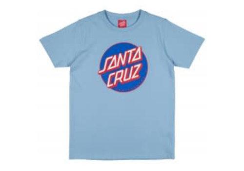 Santa Cruz Santa Cruz Youth Classic Dot Tee Sky