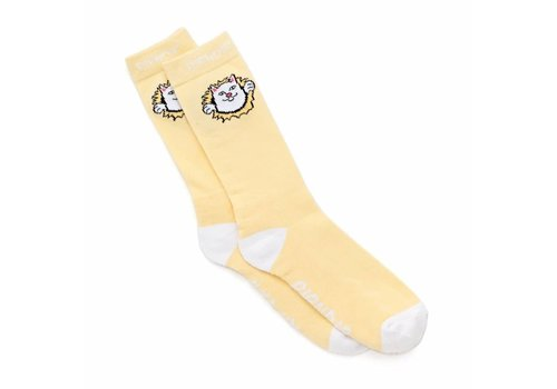 Ripndip Ripndip Nermamaniac Socks Yellow