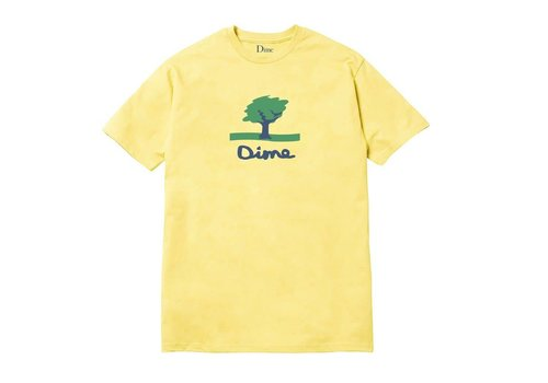 Dime Dime Channel 16 Tee Yellow