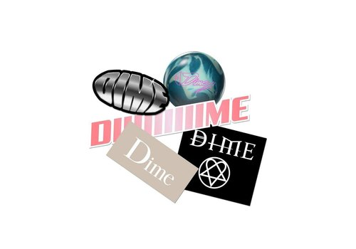 Dime Dime Stickerpack