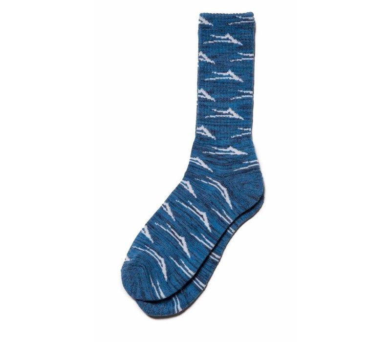 Lakai Flare Sock Blue (One Size)