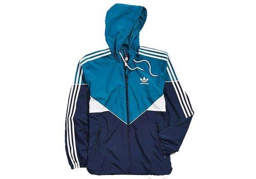 Adidas Adidas Premiere Windbreaker Teal/Navy/White