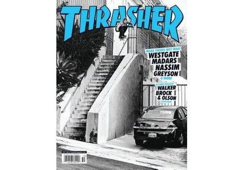Thrasher Thrasher Magazine October 2018