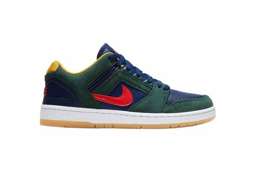 Nike SB Nike SB Air Force II Low Midnight Green/Habanero Red
