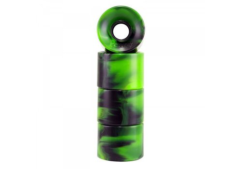 Penny Penny Wheels Swirl Green/Black 59mm