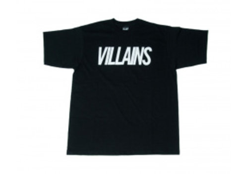 Villains Villains Origin Tee Black/White