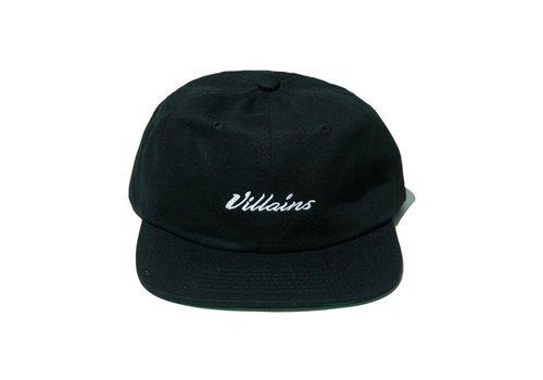 Villains Villains 6P Classic Black Cap