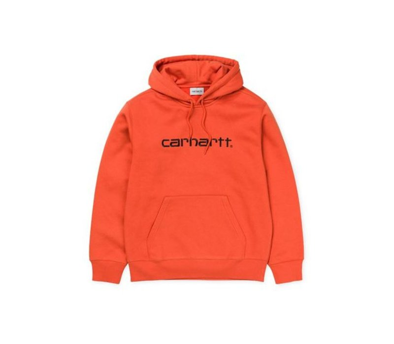 Carhartt Hooded Sweat Persimmon