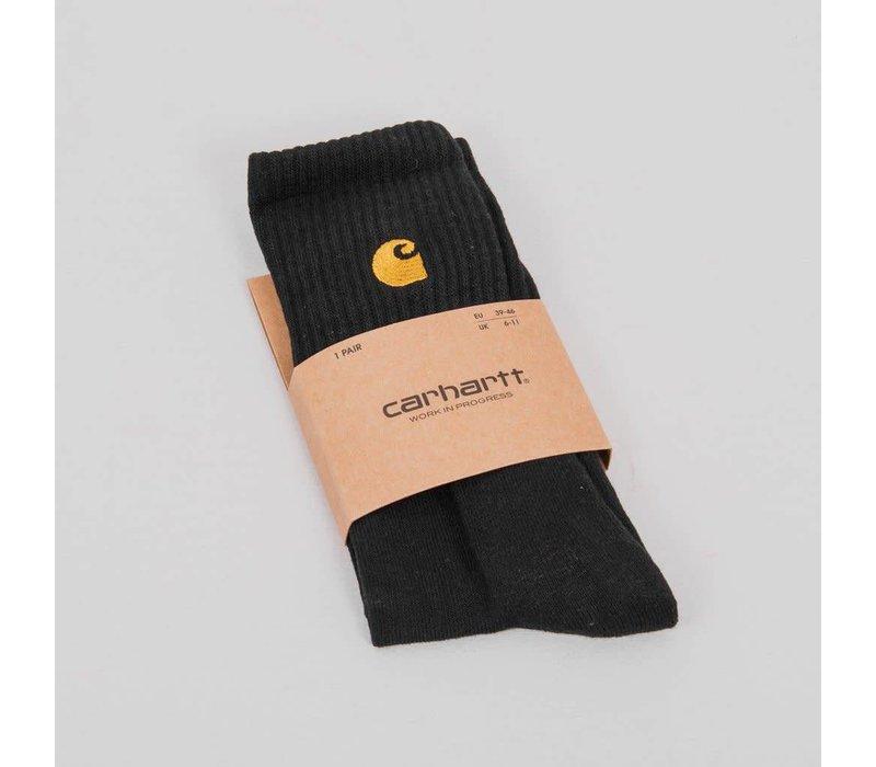 Carhartt Chase Socks Dark Navy/Gold (One Size)