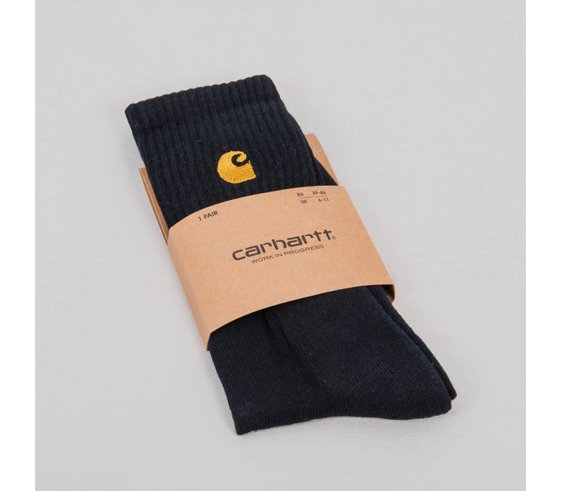 Carhartt Chase Socks Black/Gold (One Size)