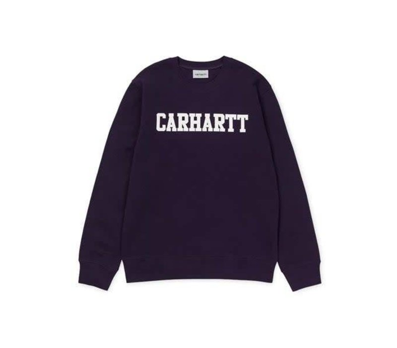 Carhartt College Sweat Lakers/White