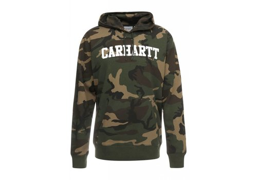 Carhartt WIP Carhartt Hooded College Sweat Camo/White