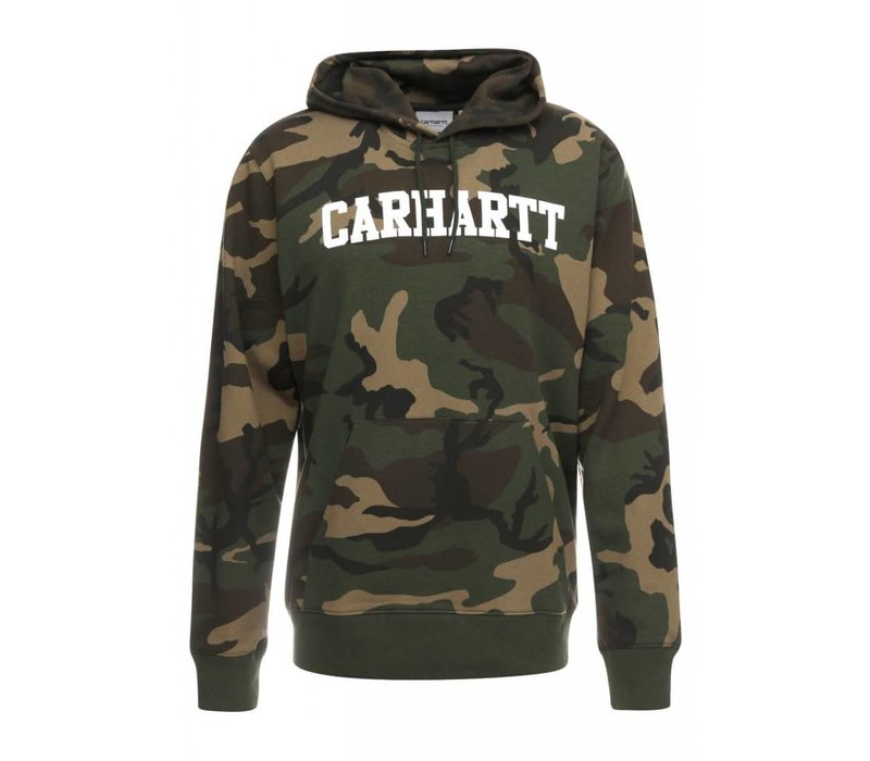 Carhartt Hooded College Sweat Camo/White