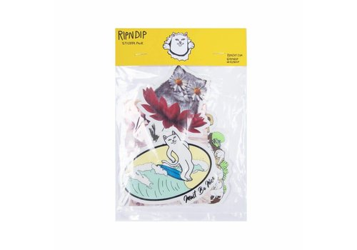 Ripndip Ripndip Stickerpack Royal Blue (10-Pack)