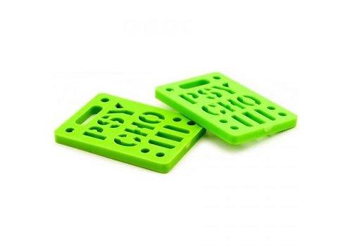 Psycho Psycho Riser Pad 1/4 Green
