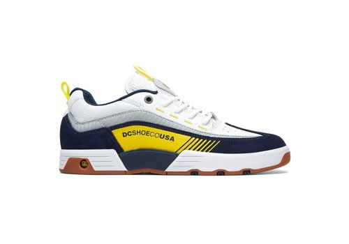 DC Shoes Legacy 98 Slim S White/Navy/Yellow