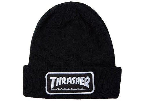 Thrasher Thrasher Logo Patch Beanie Black