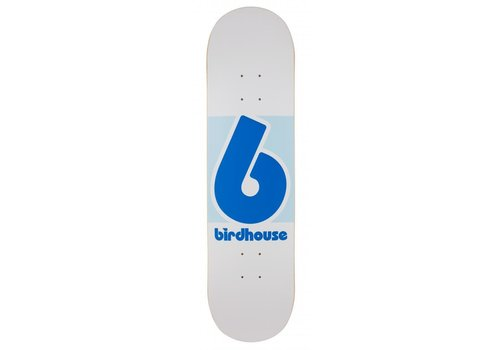 Birdhouse Birdhouse Block Logo White/Blue 8.125