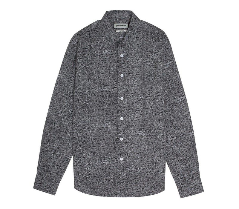 FA Button Up All Over Dress Shirt