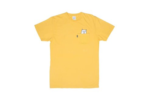 Ripndip Ripndip Lord Nermal Pocket Tee Yellow