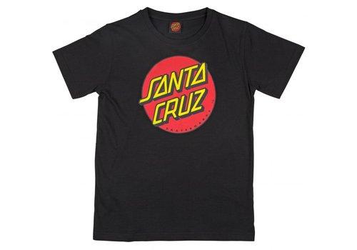 Santa Cruz Santa Cruz Youth Classic Dot Tee Black