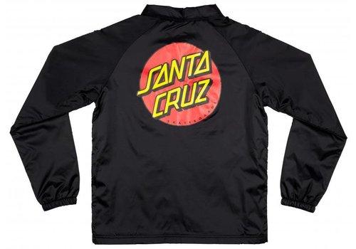 Santa Cruz Santa Cruz Youth Classic Dot Coach Jacket Black