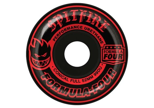 Spitfire Spitfire F4 Conical Full Shape 99a 52mm Blackout Red