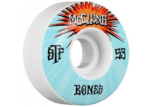 Bones Bones Wheels V1 STF Mcclung Blast 53mm