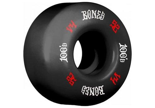 Bones Bones Wheels V4 OG Formula 100's Black 52mm