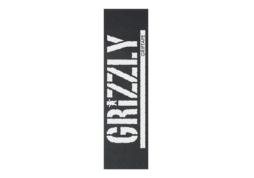 Grizzly Grizzly Oversized Stamp Griptape White