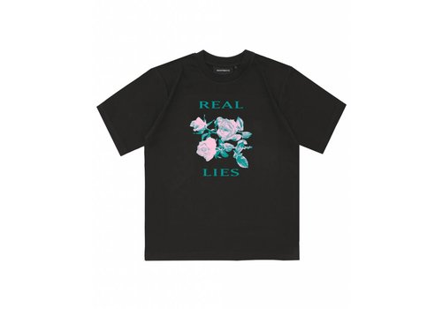 Wasted Paris Wasted Real Lies Tee Noir