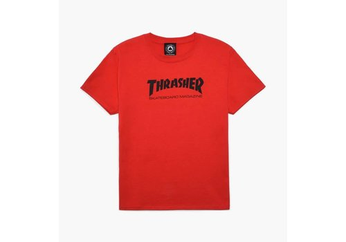 Thrasher Thrasher Skate Mag Tee Youth Red
