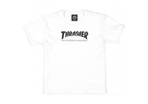 Thrasher Thrasher Skate Mag Tee Youth White