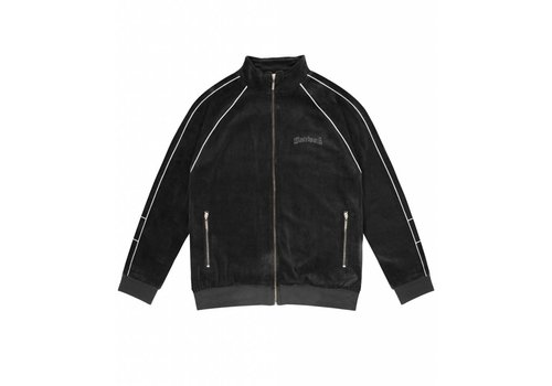 Wasted Paris Wasted Track Jacket Velour Black