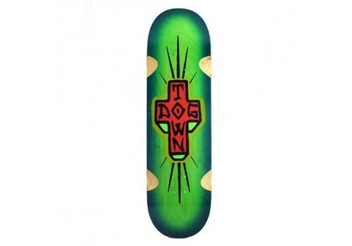 Dogtown Dogtown - Spray Cross 'Loose Trucks' Green 9.0