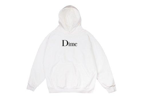 Dime Dime Classic Logo Hood White