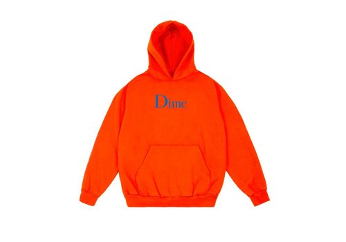 Dime Dime Classic Logo Hood Orange